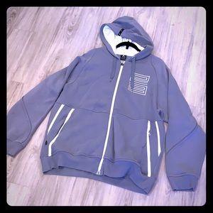 Jordan cool grey hoodie